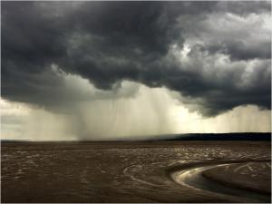 Storm over the Dee Estuary