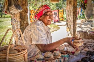 Market Stall Zimbabwe