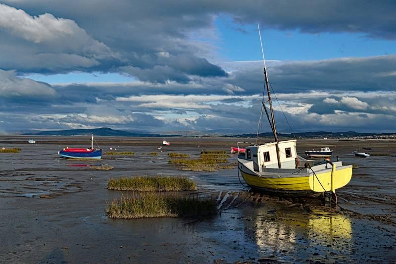 Boats at Morecambe