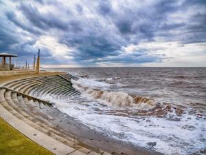 High Tide at Cleveleys