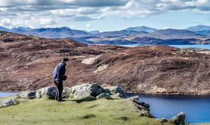 View over the Isle of Lewis