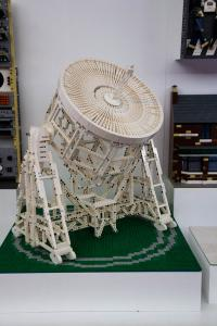Jodrell Bank in Lego