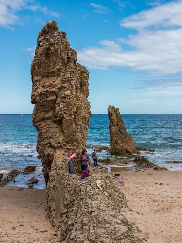 Sea Stacks, Cullen