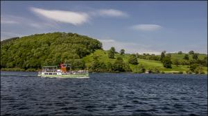 Cruising on Ullswater