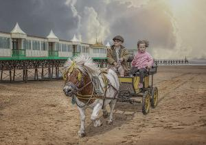 Carriage rides tuppence a go