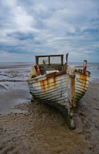 Old boat on the Wirral