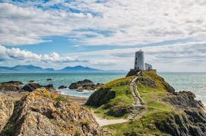 Lighthouse on Llanddwyn Island