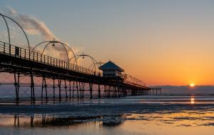 Sunset at Southport