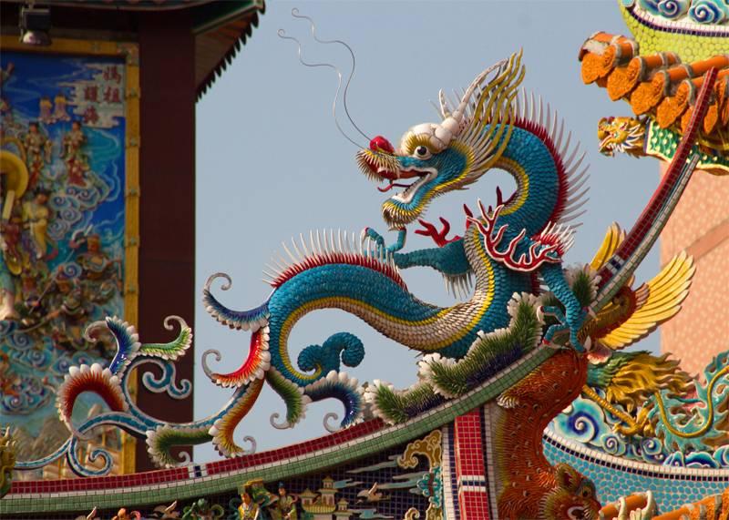 Songshan Temple Dragon