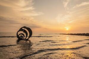 Sunset at Marys shell