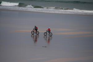 Cycling shoreside
