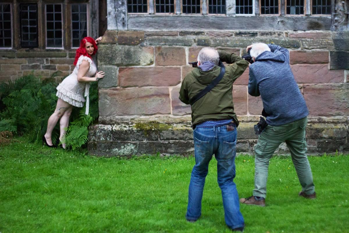 Members shooting model